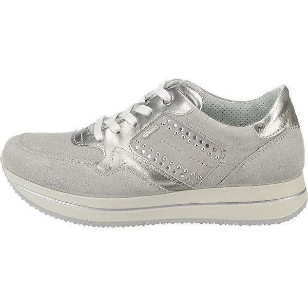 IGI & CO, DKU 11542 Sneakers Low, beliebte silber-kombi  Gute Qualität beliebte Low, Schuhe 8393f6