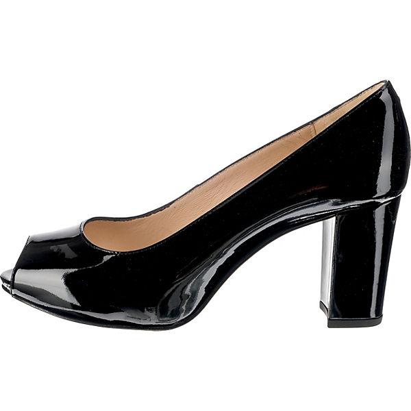 Unisa,  Peeptoe-Pumps, schwarz  Unisa, Gute Qualität beliebte Schuhe 1dc94e