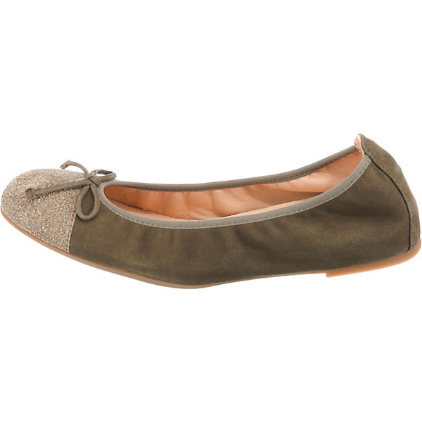 Unisa, Klassische Ballerinas, khaki     882e56