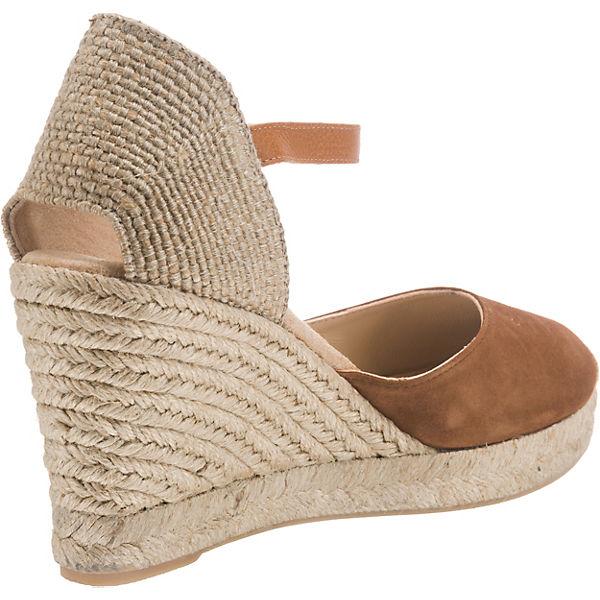 Unisa, KeilSandaleetten, braun  Gute Qualität beliebte beliebte Qualität Schuhe 708d32