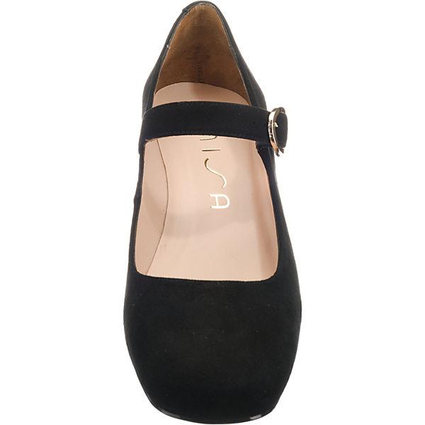 Unisa, INEXES Spangenpumps, Qualität schwarz  Gute Qualität Spangenpumps, beliebte Schuhe 30da5f