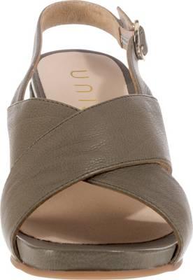 Unisa Klassische Sandaletten, grün, khaki