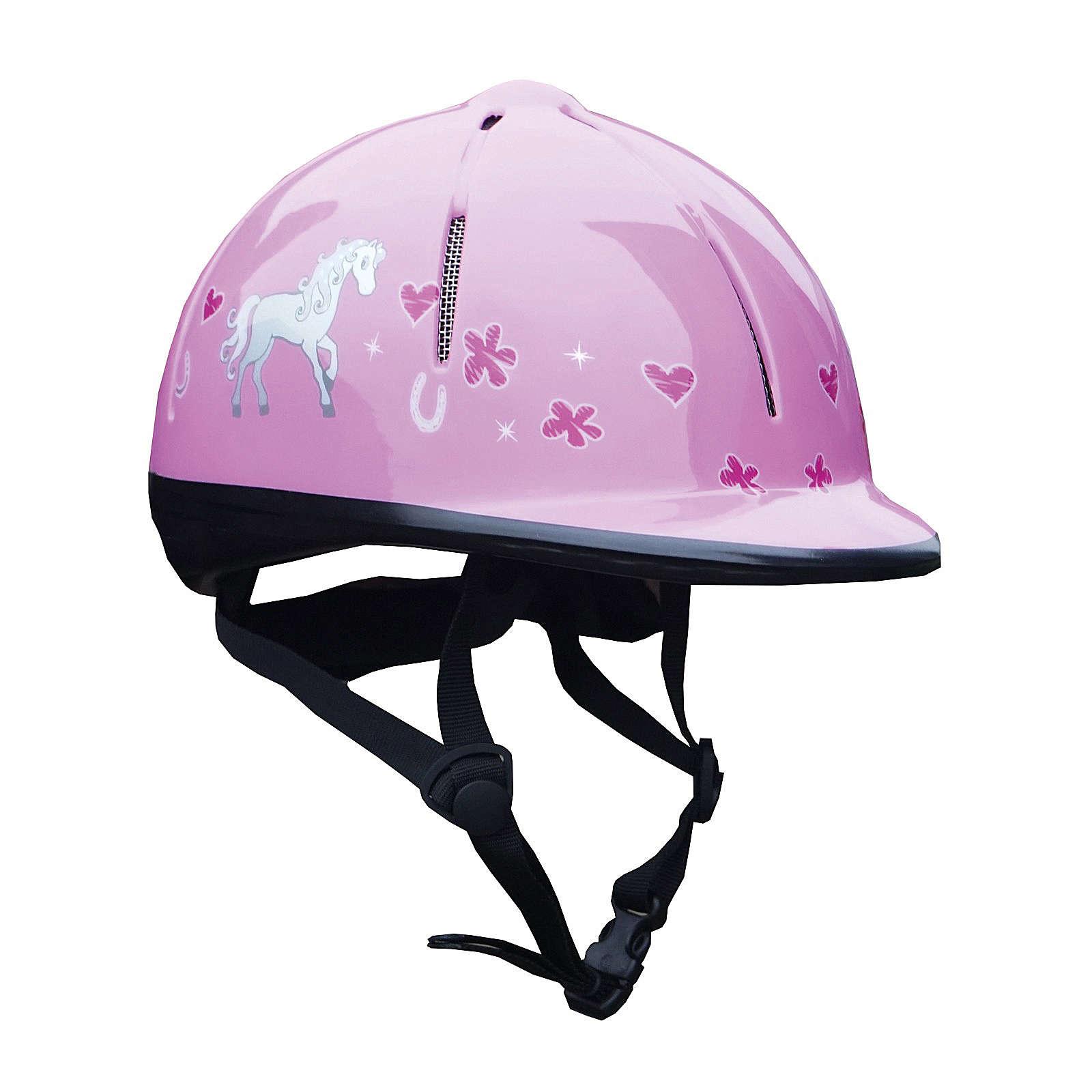 RED HORSE Reithelme für Mädchen pink Mädchen Gr. 48-52