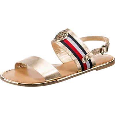 CORPORATE RIBBON FLAT SANDAL MET Riemchensandalen