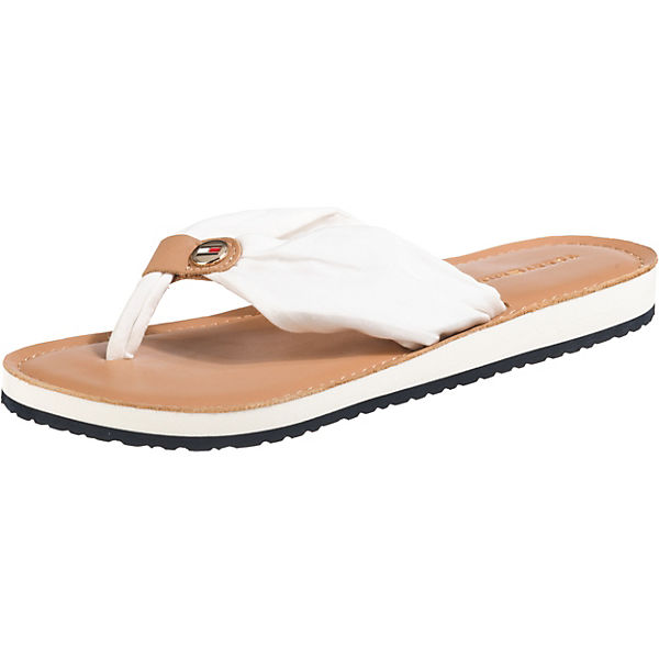 LEATHER FOOTBED BEACH SANDAL Pantoletten