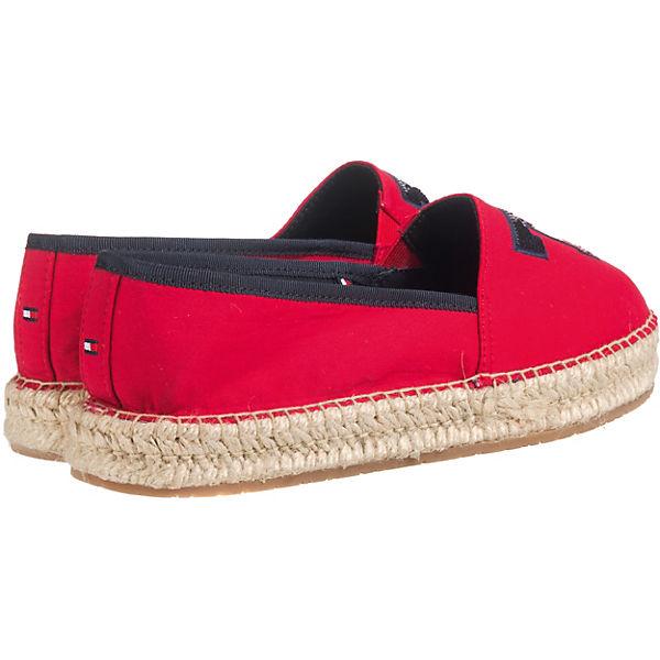 TOMMY SEQUINS HILFIGER, TH SEQUINS TOMMY ESPADRILLE Espadrilles, rot  Gute Qualität beliebte Schuhe 417edc