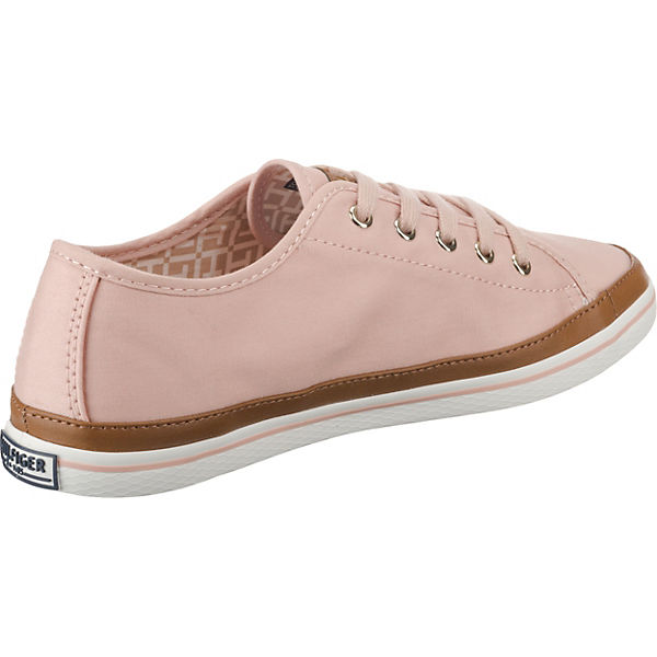 Tommy Sneakers Hilfiger Low Tommy Hilfiger Rosa Sneakers Hilfiger Tommy Low Rosa BdxroeC