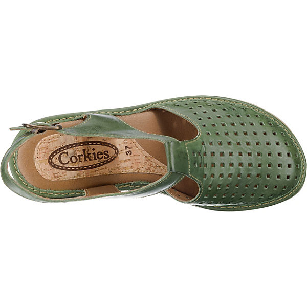 Sandalen dunkelgrün Klassische Sandalen dunkelgrün Klassische 15A163 CORKIES CORKIES 15A163 On5w75q4gx