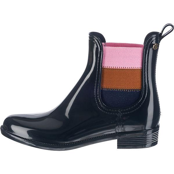 TOMMY HILFIGER, O1285DETTE 16V beliebte Gummistiefel, dunkelblau  Gute Qualität beliebte 16V Schuhe 533a8c