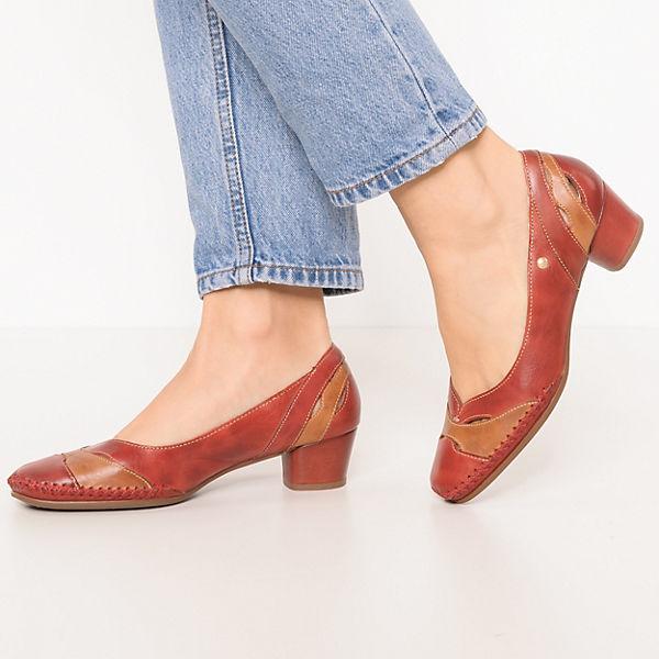 Pikolinos Gomera Klassische Pumps braun-kombi  Gute Qualität beliebte Schuhe