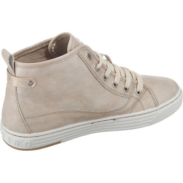 Sneakers creme MUSTANG Sneakers High MUSTANG Zw0qUnqg