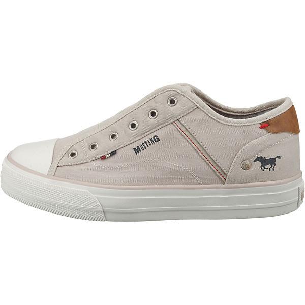wollweiß Low Sneakers MUSTANG Sneakers wollweiß MUSTANG Low Sneakers MUSTANG 0KqyIw7C