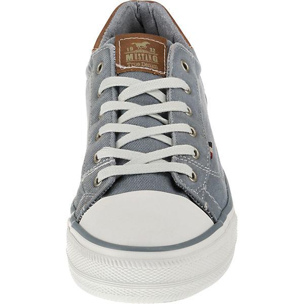Low hellblau Sneakers Low MUSTANG MUSTANG Sneakers qw4SPz1n