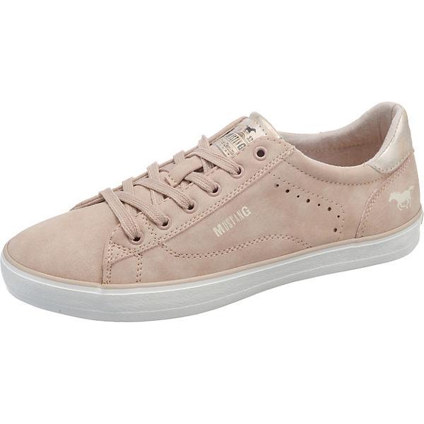 rosa MUSTANG Sneakers Sneakers Low rosa Sneakers Low MUSTANG MUSTANG fq8zgwx