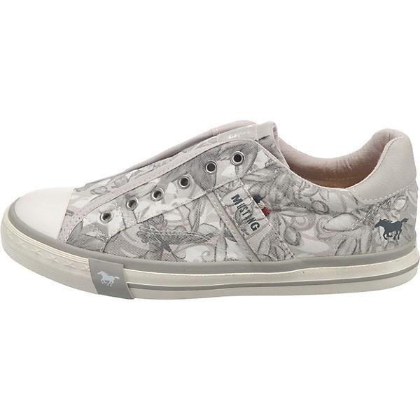 Low MUSTANG Sneakers Sneakers MUSTANG hellgrau t7tqrn6