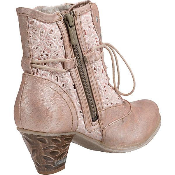MUSTANG Schnürstiefeletten bronze  beliebte Gute Qualität beliebte  Schuhe b0fbf5