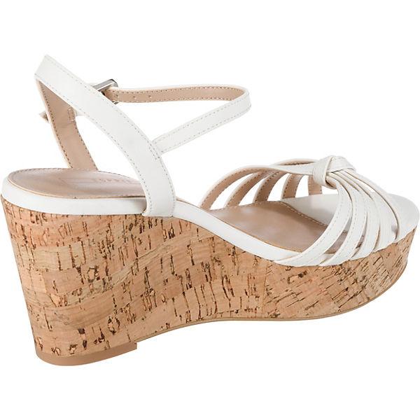 Keilsandaletten weiß Anna ESPRIT sandal MB vY84qxw7