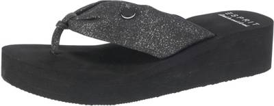 ESPRIT Pantolette 'Ilary Glitter' schwarz 4fkruUdDq