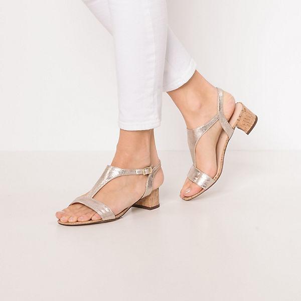 ESPRIT, Doris Sandal Riemchensandaletten, beliebte gold  Gute Qualität beliebte Riemchensandaletten, Schuhe 2c3fb6