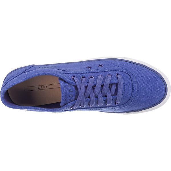 ESPRIT Sneakers blau up Low Lace Miami rfPqHgr