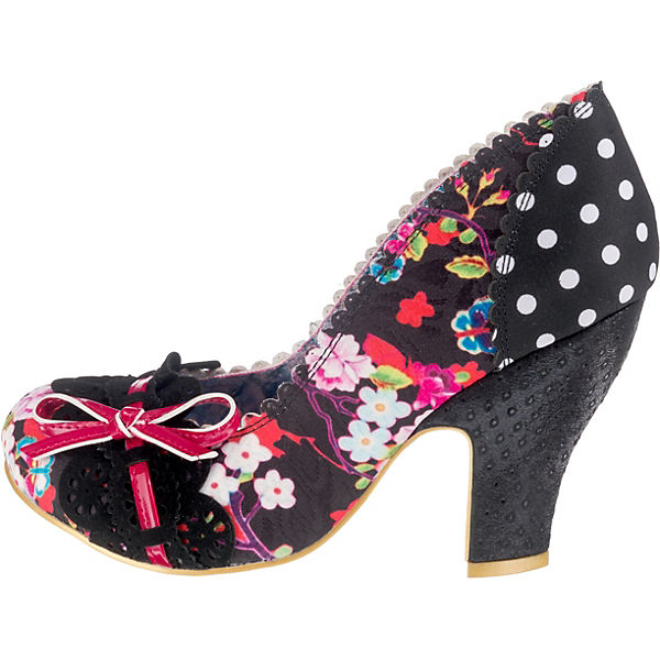 Irregular Choice Make Make Make My Day Klassische Pumps schwarz/rot  Gute Qualität beliebte Schuhe 09952c