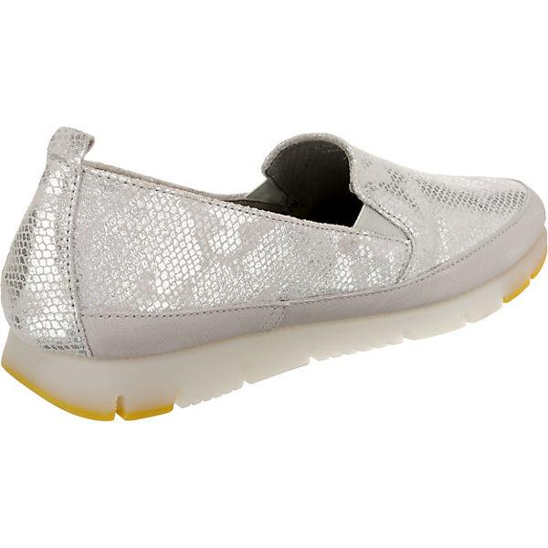 Aerosoles, Fast Lane Qualität Mix Bamboo Mokassins, silber  Gute Qualität Lane beliebte Schuhe ee5343