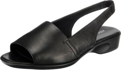 Aerosoles Cush Flow Vanity Klassische Sandalen, schwarz, schwarz