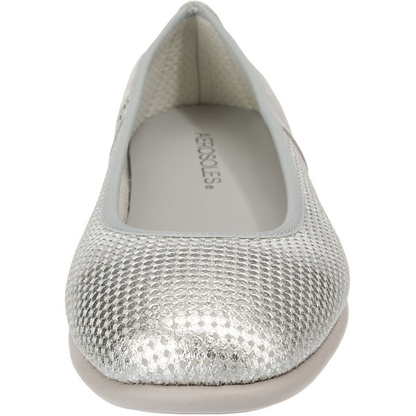 It Aerosoles On Malibu Bet Klassische silber Mix Ballerinas 6qPE1w