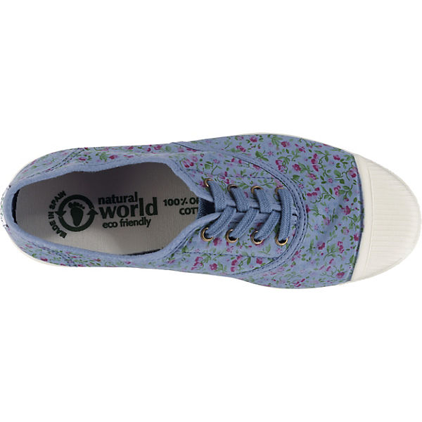 world natural Slipper Sportliche INGLES blau TINTADO LIBERTY 0vvdqA