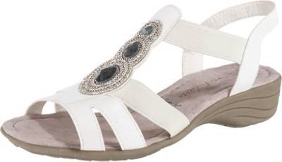 Jane Klain Komfort-Sandalen, weiß, weiß