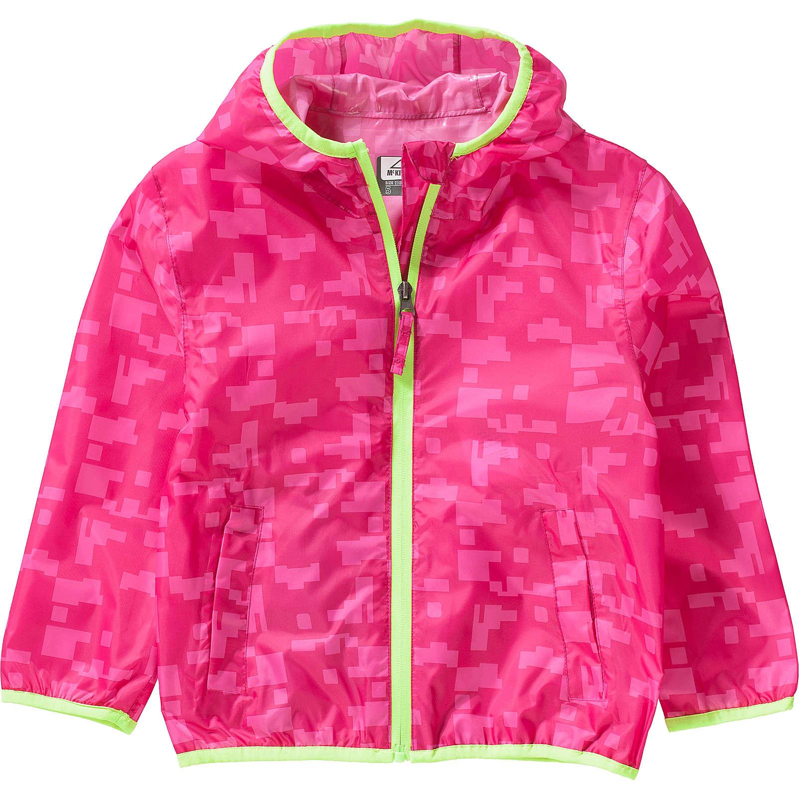 McKinley Regenjacke LITIRI für Mädchen pink Mädchen Gr. 164