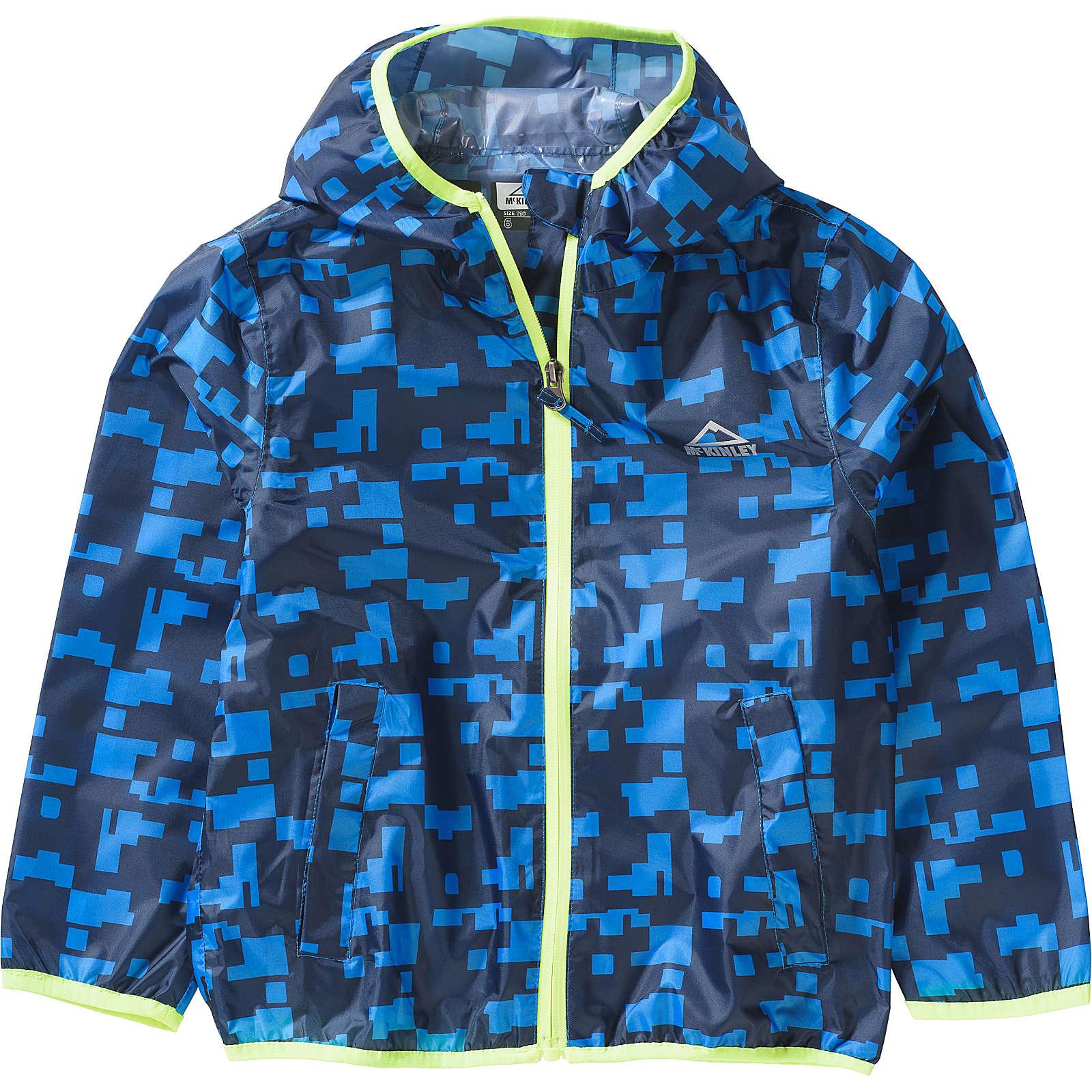 McKinley Kinder Regenjacke LITIRI blau Gr. 176