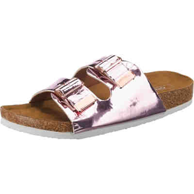 onlMATHILDA METALLIC SLIP ON Pantoletten