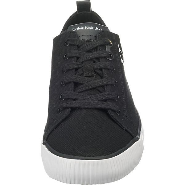 CALVIN KLEIN JEANS, schwarz ARNOLD CANVAS Sneakers Low, schwarz JEANS,   f903cd
