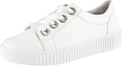 gabor ballerinas weiß, GABOR Sneaker low blue Damen Schuhe