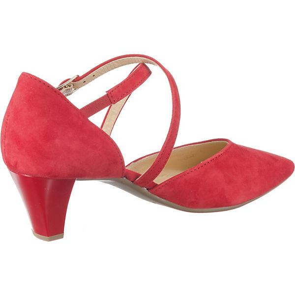 Gabor, Klassische Gute Pumps, rot  Gute Klassische Qualität beliebte Schuhe 9a402d