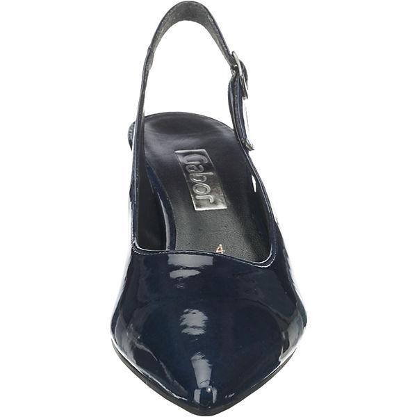 Gabor, Sling-Pumps, beliebte blau  Gute Qualität beliebte Sling-Pumps, Schuhe bfa42a