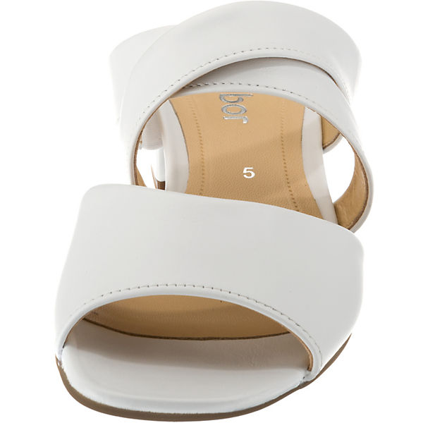Gabor, Pantoletten, weiß Qualität  Gute Qualität weiß beliebte Schuhe dd5906