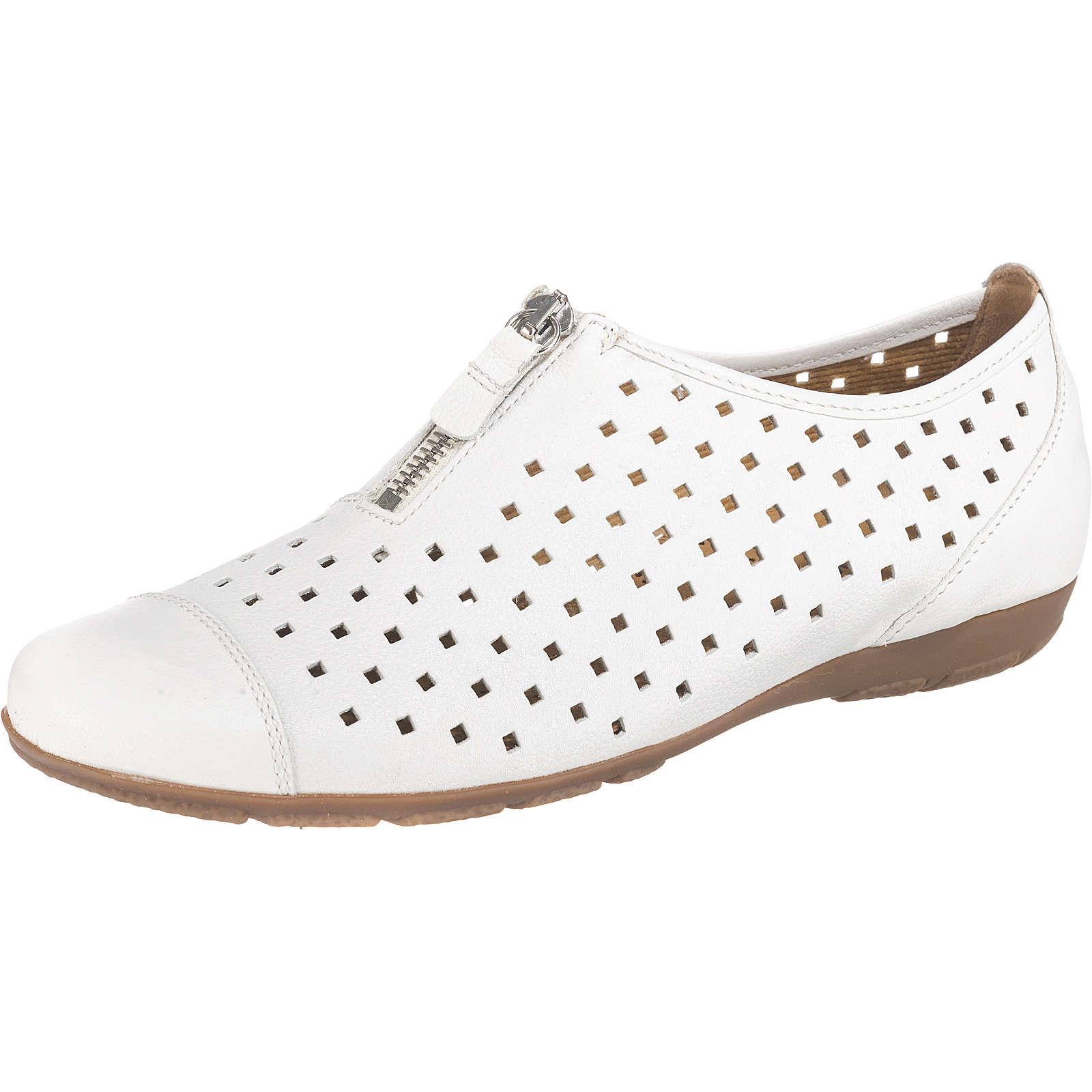 Gabor Sportliche Ballerinas weiß Damen Gr. 38