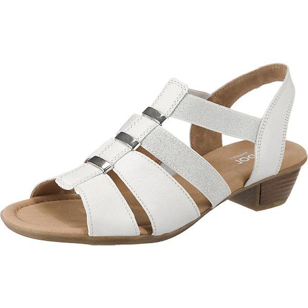 günstiger Preis am besten geliebt heißes Produkt Gabor, Klassische Sandaletten, weiß