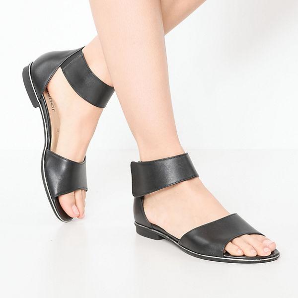 Gabor, Klassische Sandaletten, schwarz