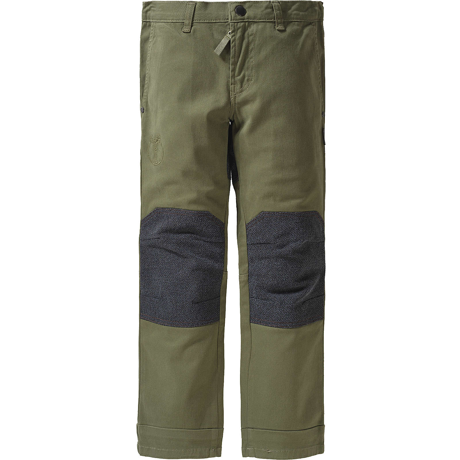 elkline Kinder Outdoorhose Franzhose khaki Gr. 116