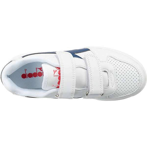 Diadora Kinder Sneakers Low PLAYGROUND PS weiß