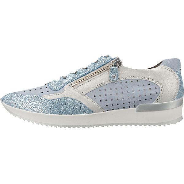 Gabor, Sneakers Low, blau-kombi blau-kombi Low,   42b2ab