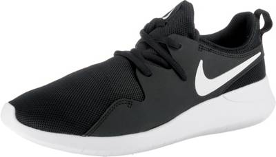 NIKE, Sneakers Low TANJUN (GS) für Mädchen, schwarzrosa
