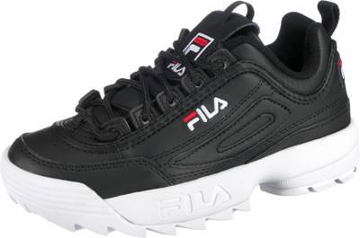 FILA, Disruptor Sneakers Low, schwarz Modell 1