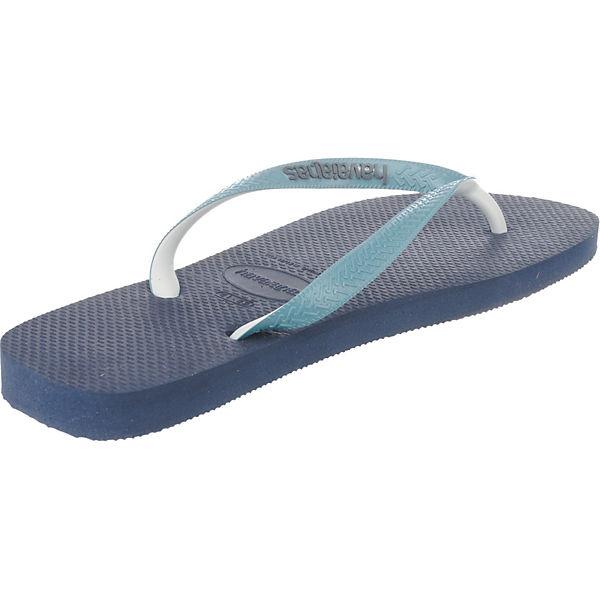 Top havaianas dunkelblau Mix offene Schuhe U7AXvq