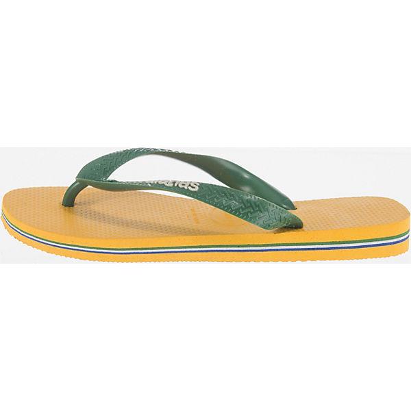 Brasil Brasil havaianas Pantoletten gelb Pantoletten gelb gelb Brasil Brasil Logo Logo havaianas havaianas Pantoletten Logo havaianas Sqgdd