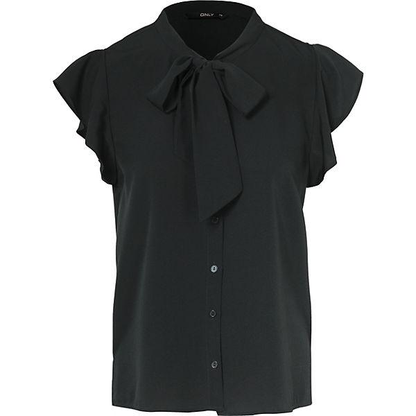 Bluse ONLY ONLY schwarz ONLY schwarz schwarz ONLY Bluse Bluse q0z5t