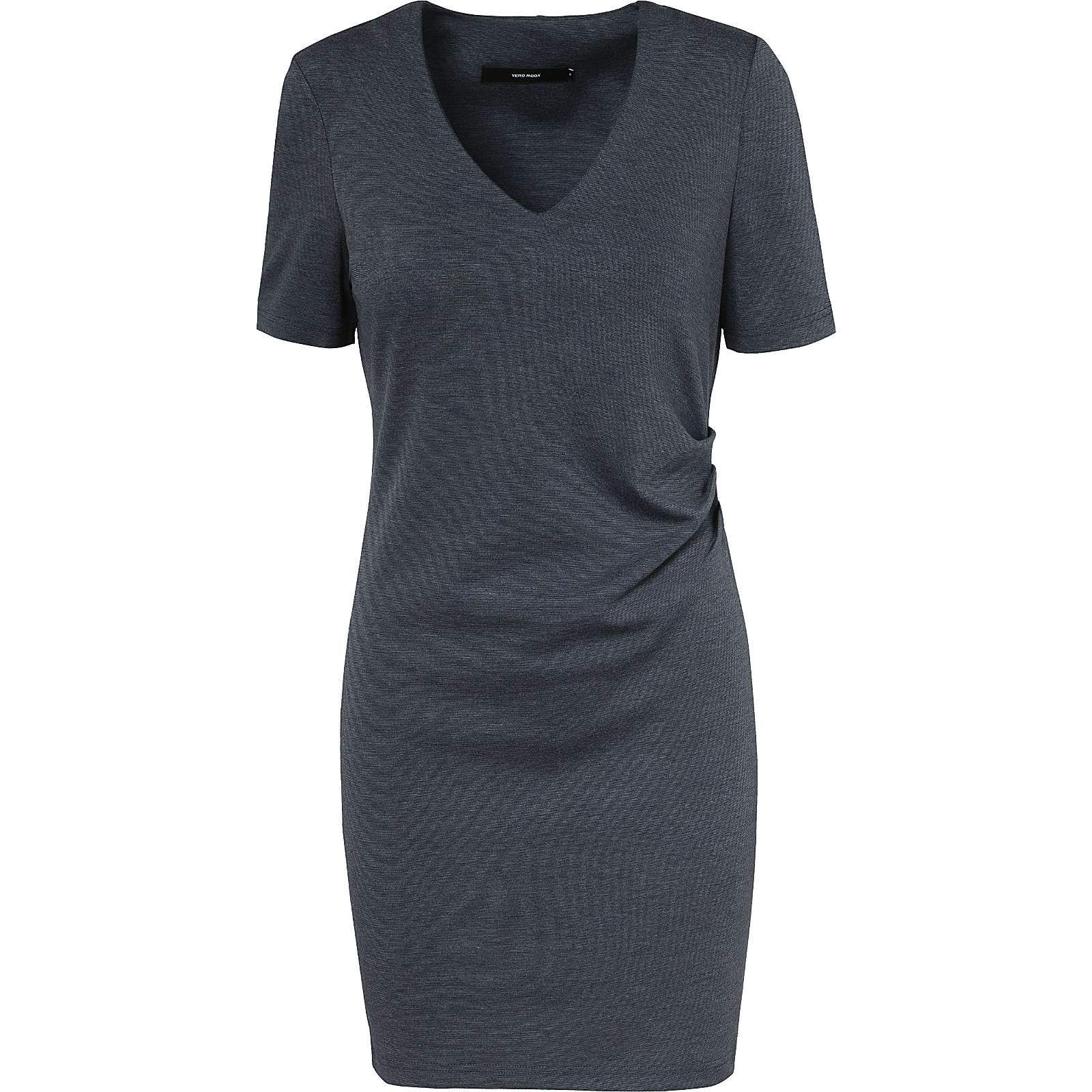 VERO MODA VMJENNY 2/4 SHORT DRESS - Kleider* - weiblich dunkelblau Damen Gr. 34